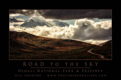 Jeff Johnson Photograph - Road To The Sky by Jeff Johnson