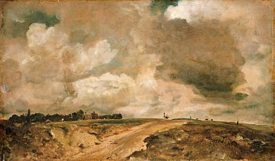 Hampstead Painting - Road To The Spaniards. Hampstead by John Constable