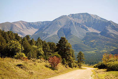 Photograph - Road To The Spanish Peaks by Ann Powell