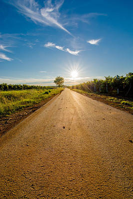 Road To The Sun Art Print by Andreas Berthold