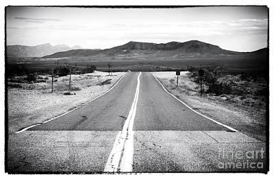 Road To Vegas Art Print by John Rizzuto