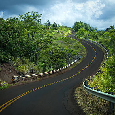 Photograph - Road To Waimea Canyon by Michael Yeager
