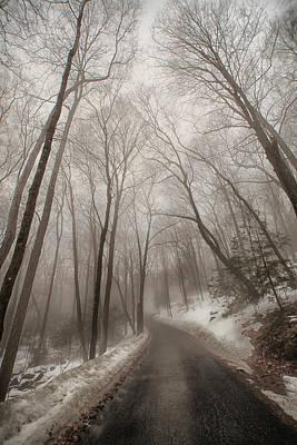 Road To Winter Print by Karol Livote