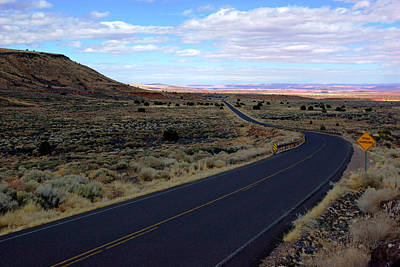 Photograph - Road To Wupatki by Daniel Woodrum