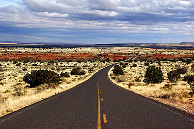 Photograph - Road To Wupatki No.2 by Daniel Woodrum