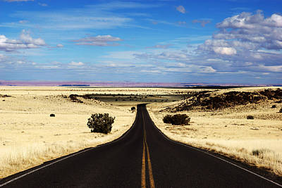 Photograph - Road To Wupatki No.3 by Daniel Woodrum