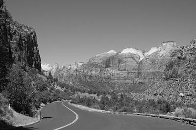Photograph - Road To Zion by Kimberly Oegerle