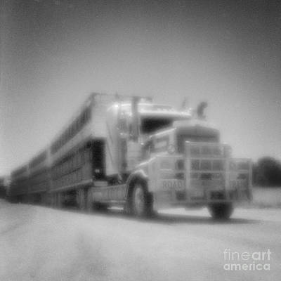 Pinhole Photograph - Road Train Nt Australia by Colin and Linda McKie