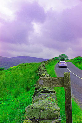 Grey Clouds Photograph - Road Trip by Martin Newman