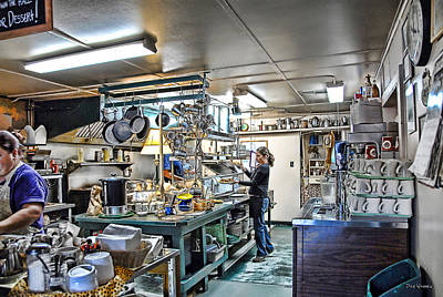 Photograph - Talkeetna Roadhouse Kitchen by Dyle   Warren