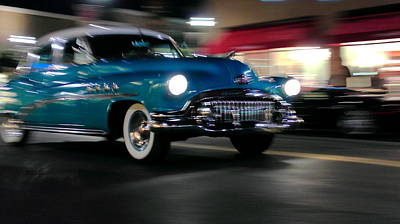 Photograph - Roadmaster In Motion by Howard Markel