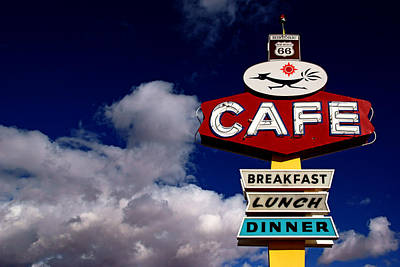 Photograph - Roadrunner Cafe by Daniel Woodrum
