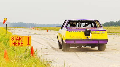 Photograph - Roadrunner In The Start. by Simply  Photos