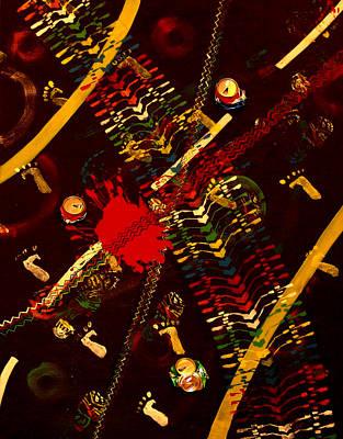 Pepsi Painting - Roads Soul  by Hiam  Kurdi