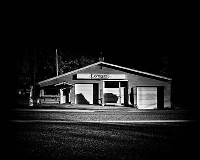 Photograph - Roadside Antiques Shop In Torrance Ontario by Brian Carson