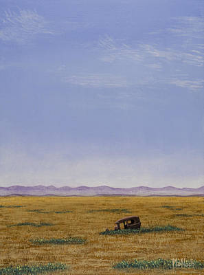 Painting - Roadside Attraction by Jack Malloch