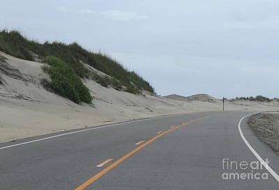 Roadside Dunes Art Print