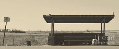 Roadside Rest Art Print