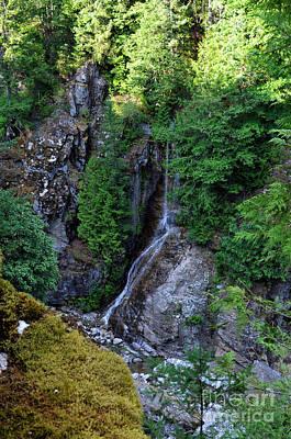 Photograph - Roadside Waterfall by Rebecca Parker