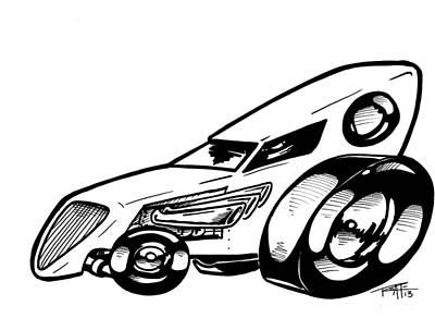 oldsmobile drawings