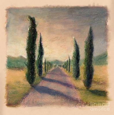 Roadway To Somewhere Art Print by Logan Gerlock