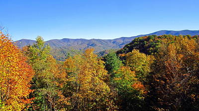 Photograph - Roan Highlands In Autumn by Cynthia  Clark