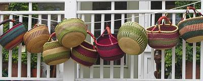 Art Print featuring the photograph Roanoke Baskets by Cathy Lindsey