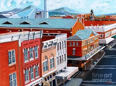 Roanoke City Market Art Print by Todd Bandy