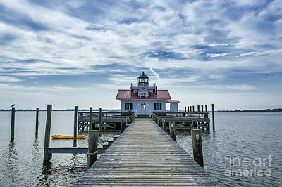 Roanoke Lighthouse Art Print by John Greim