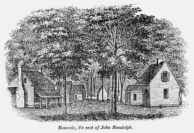 Roanoke, Virginia, 1856 Art Print by Granger