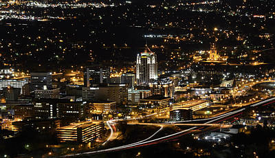 Roanoke Photograph - Roanoke Virginia by Brendan Reals