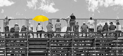 Bleachers Photograph - Roar Of The Crowd by Kitty Ellis