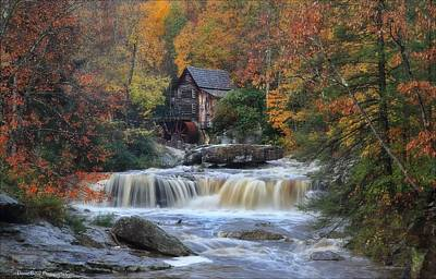 Roaring Past The Mill Art Print