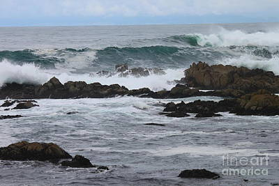 Photograph - Roaring Sea by Bev Conover