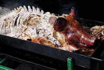 Roast Hog Art Print