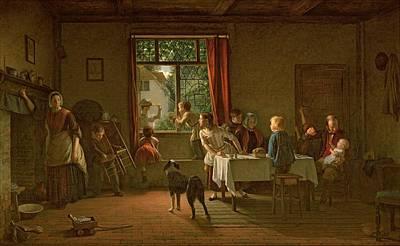 Communal Painting - Roast Pig, 1862 by Thomas Webster