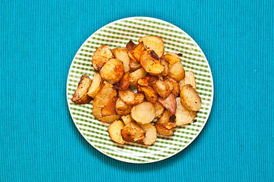 Royalty-Free and Rights-Managed Images - Roast potatoes by Tom Gowanlock