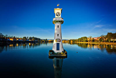 Photograph - Roath Park Evening by Meirion Matthias