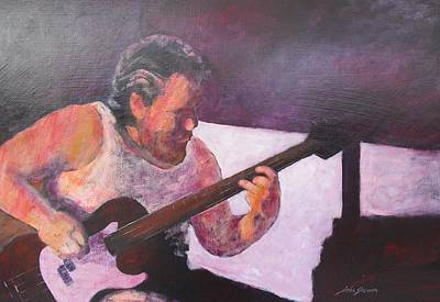 Music Painting - Rob by John  Svenson