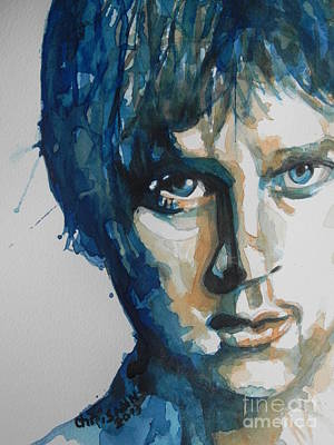 Music Paintings - Rob Thomas  Matchbox Twenty by Chrisann Ellis