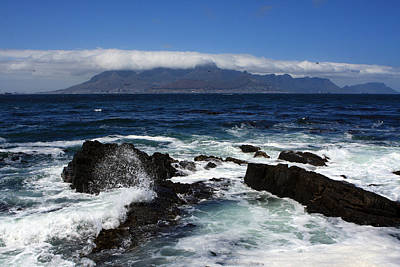 Photograph - Robben Island View by Aidan Moran