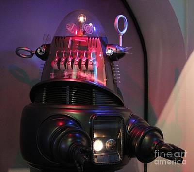 Art Print featuring the photograph Robby The Robot 1956 by Cynthia Snyder