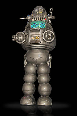 Robby The Robot Art Print by Gary Warnimont