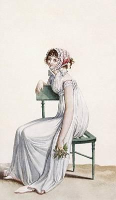 Robe Chemise, Illustration From Journal Art Print
