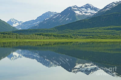 Art Print featuring the photograph Robe Lake by Nick  Boren