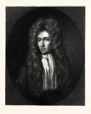Seventeenth Century Drawing - Robert Boyle by English School