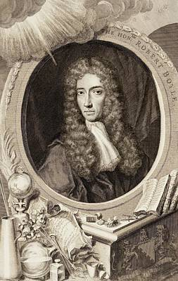 Robert Boyle Art Print by Gregory Tobias/chemical Heritage Foundation