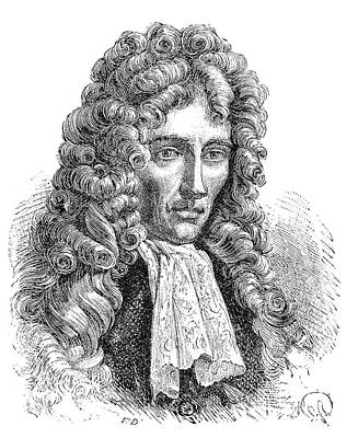 Robert Boyle Art Print by Science Photo Library