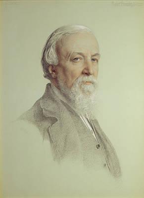 Robert Browning , 1881 Art Print by Anthony Frederick Augustus Sandys