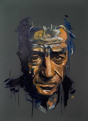 Painting - Robert De Niro by Matt Burke